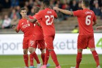 Pemain Liverpool saat mengalahkan HJK Helnski (Dailymail.co.uk)