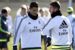 Ronaldo dan Ramos saat berlatih bersama Real Madrid (Marca)