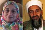 Sana (kiri) adik perempuan Osama Bin Laden yang tewas dalam insiden pesawat jatuh (Telegraph.co.uk)