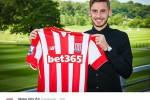 Stoke City Rekrut Sergio Molina (Twitter/Dailymail)