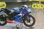 Suzuki GSX-R250 dalam majalah Young Machine. (Motoblast.org)