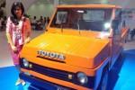 Toyota Kijang 1977 alias Kijang Boyo di pameran otomotif GIIAS 2015. (Instagram.com)