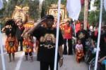 PERAYAAN HUT RI :Reog Ponorogo Ikut Upacara Peringati HUT RI