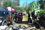 Kecelakaan maut terjadi di Jambangan, Sumberejo, Wuryantoro, Minggu (2/8/2015). Pengendara sepeda motor tewas setelah menabrak mobil. (Bayu Jatmiko A/JIBI/Solopos)