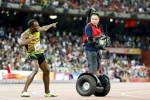 KEJUARAAN DUNIA ATLETIK 2015 : Kali Keempat, Bolt Raih Gelar Juara Dunia 200 meter