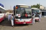 Bus jemaah haji Indonesia (Kemenag.go.id)