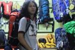 Carrier Bags ukuran 30 liter koleksi Cozmeed Jl Slamet Riyadi Solo 2. (Mariyana Ricky P.D/JIBI/Solopos)