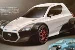 Desain mobil konsep Toyota Midget dalam majalah Best Car. (Motoring.com.au)