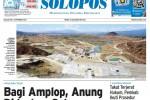 Halaman Depan Harian Umum Solopos edisi Selasa, 1 September 2015