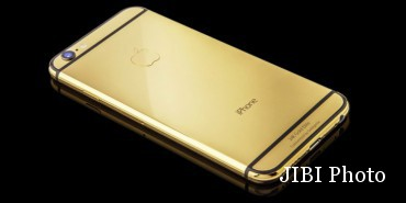 Iphone 6S Dibekali Emas 24 Karat Dijual Paling Murah Rp50 Juta (Gsmarena)