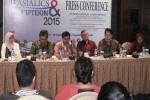 Suasana jumpa pers dalam Pembukaan Konferensi Ilmiah Internasional ASIALICS ke-12 dan Forum IPTEKIN ke-5 2015 di RAY, Selasa (15/9/2015). (JIBI/Harian Jogja/Joko Nugroho)