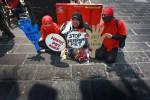 Kecam Kekerasan terhadap PRT (JIBI/Harian Jogja/Desi Suryanto)
