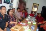 Rapat konsolidasi DPC PDIP Sragen dan DPD PDIP Jateng terkait Pilkada Sragen, Senin (26/10/2015). (Tri Rahayu/JIBI/Solopos)
