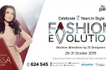 Fashion Evolution – The Park Mall, 29-31 Oktober 2015