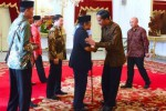 Jokowi Undang BJ Habibie dan Try Sutrisno ke Istana