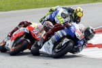 MOTO GP MALAYSIA 2015 : Duel Rossi-Lorenzo Seret Marquez