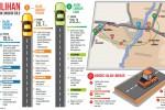 Ilustrasi 3 Pilihan Jalan Lingkar Solo. (JIBI/Solopos)