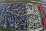 Kemacetan parah di Tiongkok (Metro.co.uk)