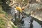 PENCEMARAN LINGKUNGAN SUKOHARJO :  500 KK Terdampak Limbah Pabrik Tekstil di Gedangan