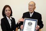 Sakari Momoi, pemegang rekor pria tertua di Jepang. (Istimewa)