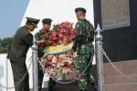 HUT TNI : Jajaran Kodam Ziarah Ke Taman Makam Pahlawan