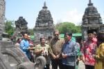 CAGAR BUDAYA KLATEN : 3 Candi di Kompleks Prambanan Selesai Dipugar