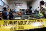 FOTO PERAMPOKAN BLITAR : Pemilik Toko Emas Siang Tewas