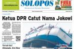 SOLOPOS HARI INI : Ketua DPR Catut Nama Jokowi