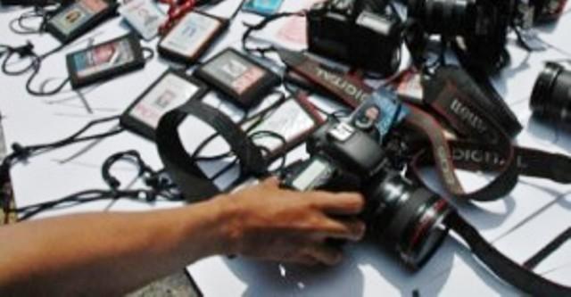 Ilustrasi wartawan profesional. (JIBI/Bisnis/Dok.)
