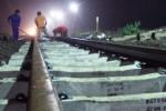KERETA ANJLOK : Kereta Barang Anjlok di Blitar Diselidiki