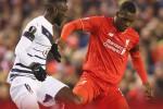 Liverpool vs Bordeaux (Twitter)