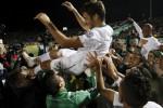 Raul merayakan kemenangan bersama New York Cosmos (Mirror)