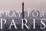 Gambar yang diunggah dengan hashtag #PrayforParis. (Istimewa/Twitter)