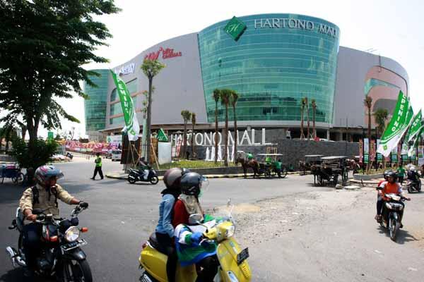 Wajah depan Hartono Mall Yogyakarta, Jumat (20/11/2015). (Harian Jogja/Desi Suryanto)