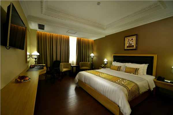 Kamar tipe deluxe The Sahid Rich Jogja Hotel (IST)