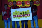 Head of Region Indosat Central & West Java Hari Sukomono (dua dari kiri) dan Direktur and Chief of Wholesale and Enterprise Officer Indosat Herfini Haryono (dua dari kanan) pada Launching Indosat Ooredoo di Kantor Indosat Semarang Jl. Pandanaran, Kamis (19/11/2015). (Insetyonoto/JIBI/Solopos)