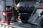 KEBAKARAN SOLO : Kronologi Truk Hantam Dispenser SPBU Banyuagung, Warga Kadipiro Kritis Terbakar