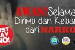 Poster kegiatan Long March Kampanye Anti Narkoba yang digelar BNP Jatim bersama Paguma. (JIBI/Madiunpos.com/Istimewa)