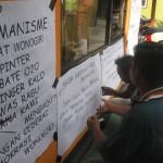 PILKADA WONOGIIRI : Aliansi Masyarakat Tuntut Ketua Panwaslu Mundur
