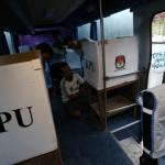 PILKADA SOLO : Meski Gemetar, Sukatmin Sukses Nyoblos di Bus