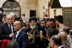KOTA TUA YERUSALEM: Paus Koptik Mesir Kunjungi Yerusalem
