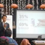 Direktur PT Rakuten Belanja Online, Yasunobu Hashimoto (Liputan6.com)