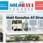 Halaman Soloraya Harian Umum Solopos edisi Selasa, 1 Desember 2015