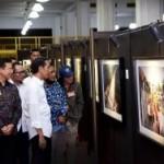 PAMERAN FOTOGRAFI : Kunjungi Pameran Foto Jurnalistik, Jokowi: Yang Foto Nakal-Nakal