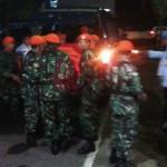 Jenazah Letkol (Pnb) Marda Sarjono tiba di Lanud Iswahjudi, Minggu (20/12/2015). (Irawan Sapto Adhi/JIBI/Madiunpos.com)