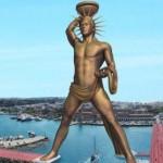 Patung Apollo di Yunani Akan Kalahkan Tinggi Patung Liberti