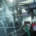 PERUSAKAN KENDARAAN SRAGEN : Dua Bus AKAP Jadi Sasaran Lemparan Batu
