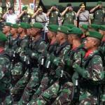 """HARI JUANG KARTIKA : """"TNI Harus Selalu Manunggal dengan Rakyat"""""""