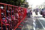 Salah satu sudut pagar besi di Jalan Malioboro. (Gilang Jiwana/JIBI/Harian Jogja)