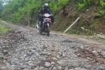 Foto Jalan Rusak di Kulonprogo